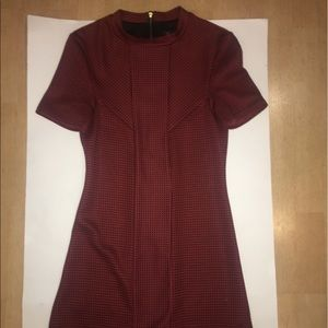 TOPSHOP RED MOD STYLE DRESS